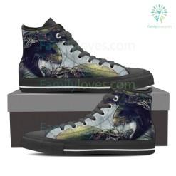 Cancer High Shoes Grey %tag familyloves.com