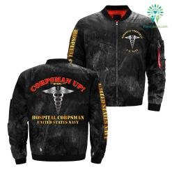 Corpsman up doc hospital corpsman United States navy Jacket over print jacket %tag familyloves.com
