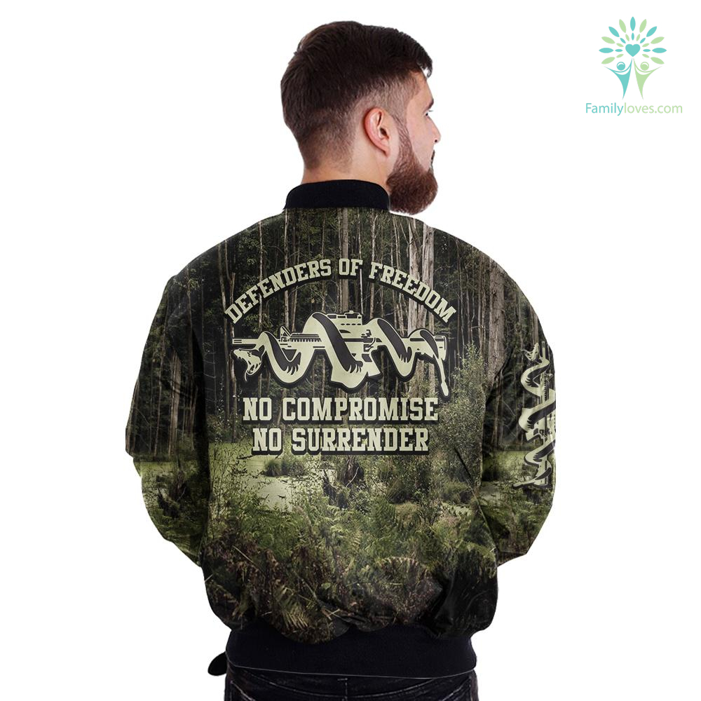 defenders-of-freedom_0fc3cc69-0d04-b3e4-41b6-03ef59232c4f DEFENDERS OF FREEDOM, NO COMPROMISE NO SURRENDER OVER PRINT JACKET  %tag