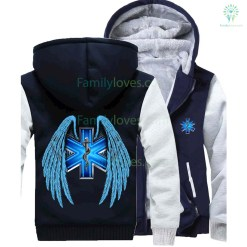 EMERGENCY MEDICAL JACKET WINGS %tag familyloves.com