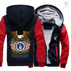 FEEL SAFE AT NIGHT SLEEP WITH AN AIRMAN HOODIES %tag familyloves.com