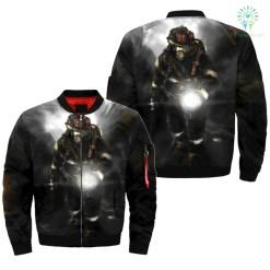 familyloves.com FIREFIGHTER over print Bomber jacket v2.0 %tag