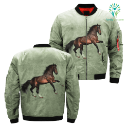 Forest Stallion over print jacket %tag familyloves.com