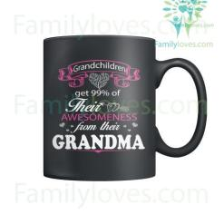 familyloves.com GRANDCHILDREN AND GRANDMA - MUGS %tag