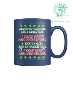 HERE'S TO LONG LIFE AND A MERRY ONE-MUGS St. Patricks shirt, St. Patrick's Day shirt, St. Patricks day, St Pattys day shirt, Sizes S-5XL %tag familyloves.com