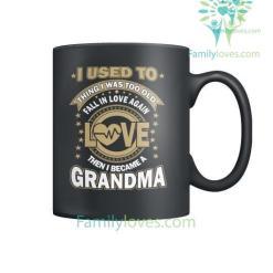 familyloves.com I BECAME A GRANDMOTHER - MUGS %tag