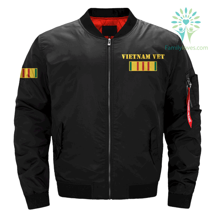 familyloves.com i'd like to thank everyone who met me at the airport...vietnam veteran OVER PRINT jacket %tag
