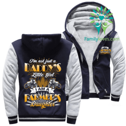 I'M NOT JUST A DADDY'S LITTLE GIRT, I AM A FARMER'S DAUGHTER HOODIE %tag familyloves.com