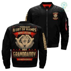 I've been called a lot of names in my lifetime but granddaddy is my favorite over print bomber jacket - XXXL, Over Print %tag familyloves.com