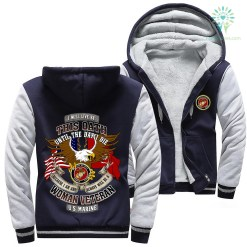 I will live by this oath until the day I die because I am and always be a woman veteran U.S Marine hoodie %tag familyloves.com