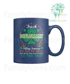 IRISH DIPLOMARY - MUGS St. Patricks shirt, St. Patrick's Day shirt, St. Patricks day, St Pattys day shirt, Sizes S-5XL %tag familyloves.com