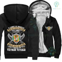 IT CANNOT BE INHERITED NOR CAN IT EVER BE PURCHASED I HAVE EARNED IT WITH MY BLOOD SWEAT AND TEARS I OWN IT FOREVER THE TITLE VIETNAM VETERAN %tag familyloves.com