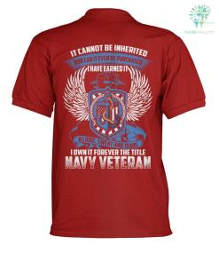 It cannot be inherited nor can it ever be purchased i have earned it blood polo shirt %tag familyloves.com