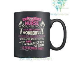 familyloves.com Just A Nurse Mugs %tag