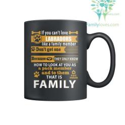 LABRADORS DOG - MUGS %tag familyloves.com