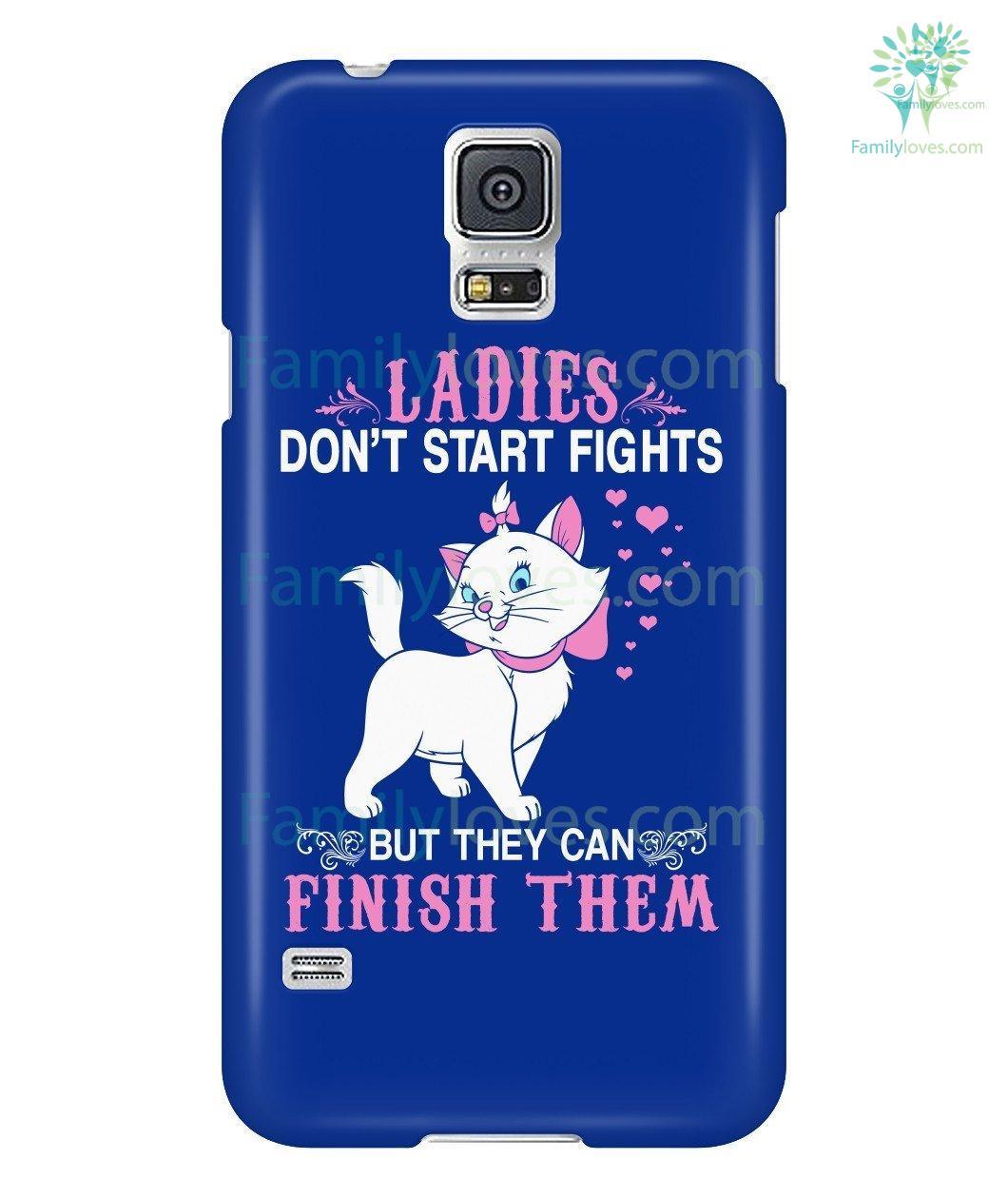 Ladies Cat Phone Case For Samsung Galaxy Familyloves Com