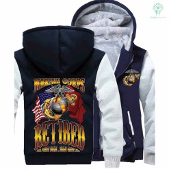 MARINE CORPS RETIRED, ALL GAVE SOME SOME GAVE ALL HOODIE %tag familyloves.com