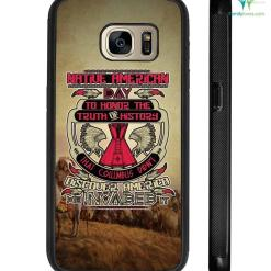 Native America day to honor the truth of history Samsung, iPhone case %tag familyloves.com
