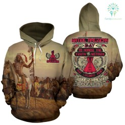 NATIVE AMERICAN DAY TO HONOR... ALL OVER HOODIE %tag familyloves.com