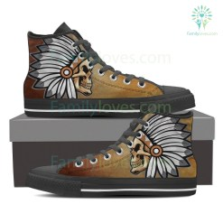Native American skull shoes %tag familyloves.com