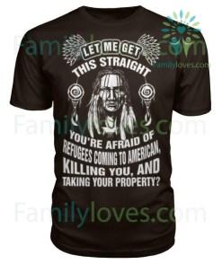 NATIVE AMERICAN TSHIRT %tag familyloves.com