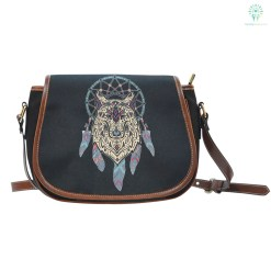 familyloves.com NATIVE DREAMCATCHER SADDLE BAG %tag