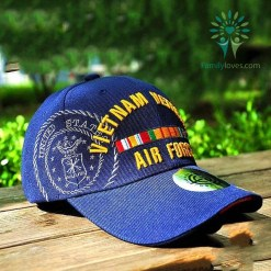 familyloves.com New Tactica Baseball Cap Vietnam Veteran Air Force United States %tag