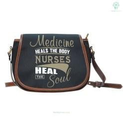 familyloves.com Nurse Heal The Soul Saddle Bag %tag