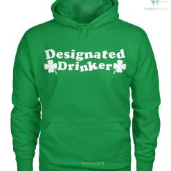 familyloves.com PATRIOTIC HOODIES, CREW NECK SWEATSHIRT,PREMIUM UNISEX TEE ?Designated Drinker %tag
