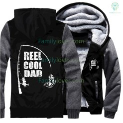 familyloves.com Reel cool dad best gift for father, father days hoodie %tag