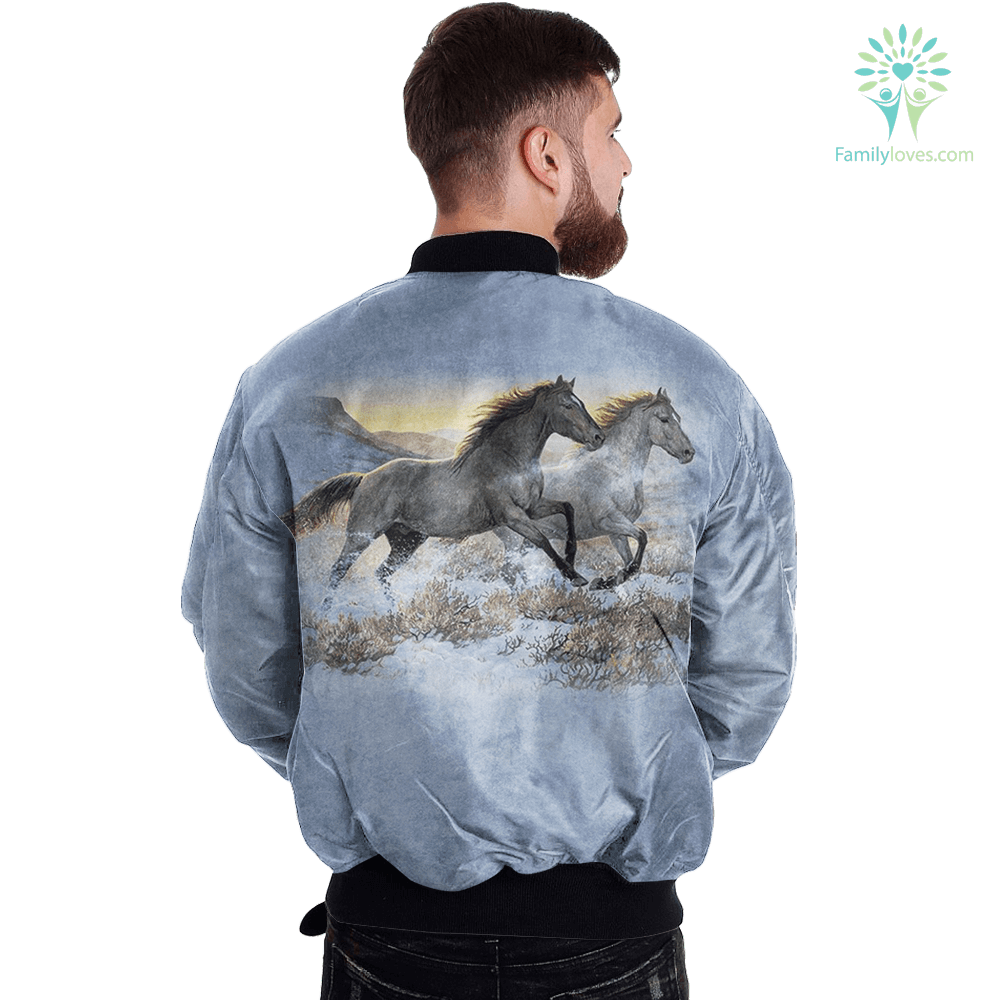 Running Free Horse over print jacket payment shipping %tag familyloves.com