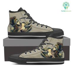 Sagittarius High Shoes Grey %tag familyloves.com