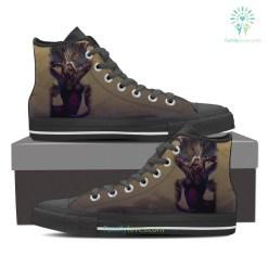 Scorpio High Shoes Brown %tag familyloves.com