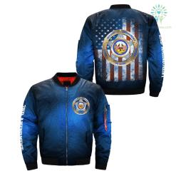 familyloves.com second amendment right to bear arms over print Bomber jacket %tag