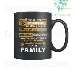 SETTERS (GORDON) DOG - MUGS %tag familyloves.com