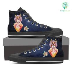Taurus High Shoes Blue %tag familyloves.com