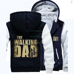 The walking dad zip hoodie new arrival 2017 %tag familyloves.com