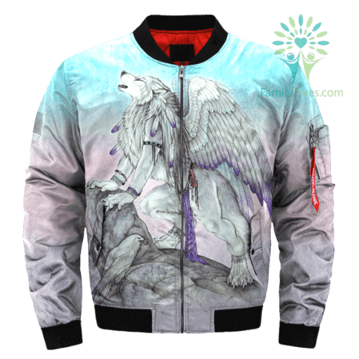 Wolf with wings jacket %tag familyloves.com
