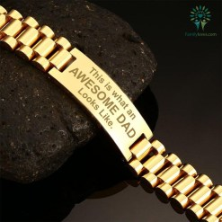 This is what an awesome Dad looks like-men bracelets %tag familyloves.com
