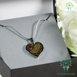 familyloves.com To my beautiful wife, i did not choose the lonely nights...veteran wife necklaces & bangles Adjustable Bangle Luxury Adjustable Necklace %tag