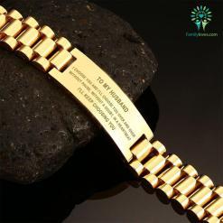 To My Husband, I'll Keep Choosing You - men's Bracelet %tag familyloves.com
