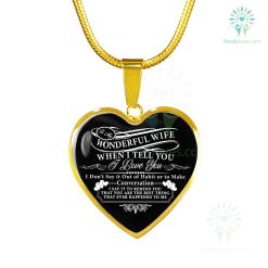familyloves.com To my wonderful wife when i tell you i love you Luxury Necklace & Bangle Luxury Bangle (Gold) Luxury Bangle (Silver) Luxury Necklace (Gold) Luxury Necklace (Silver) %tag
