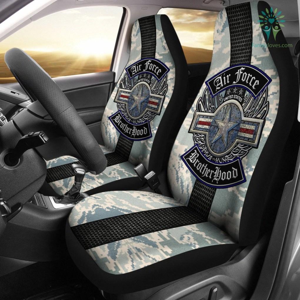 U.S Air Force brotherhood car seat cover %tag familyloves.com