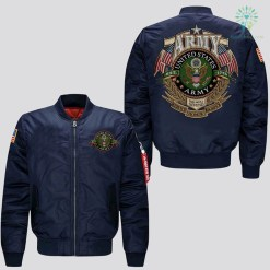 familyloves.com U.S.ARMY EMBROIDERED JACKET, EST 1775, THIS WE'LL DEFEND, SERVICE HONOR SACRIFICE. %tag
