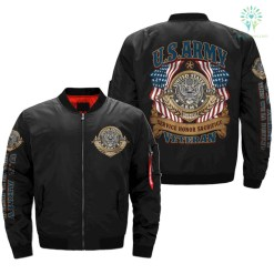 U.S.ARMY VETERAN SERVICE HONOR SACRIFICE v2.0 OVER PRINT JACKET %tag familyloves.com