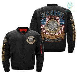 U.S.ARMY SERVICE HONOR SACRIFICE OVER PRINT JACKET %tag familyloves.com