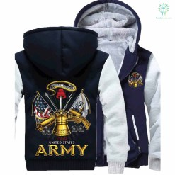 familyloves.com U.S ARMY CLASSIC HOODIE %tag