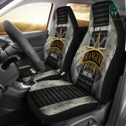U.S Army Rangers since 1943 Car Seat Covers %tag familyloves.com