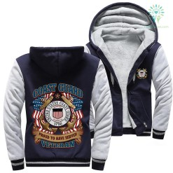 U.S Coast Guard proud to have served veteran woman hoodie %tag familyloves.com