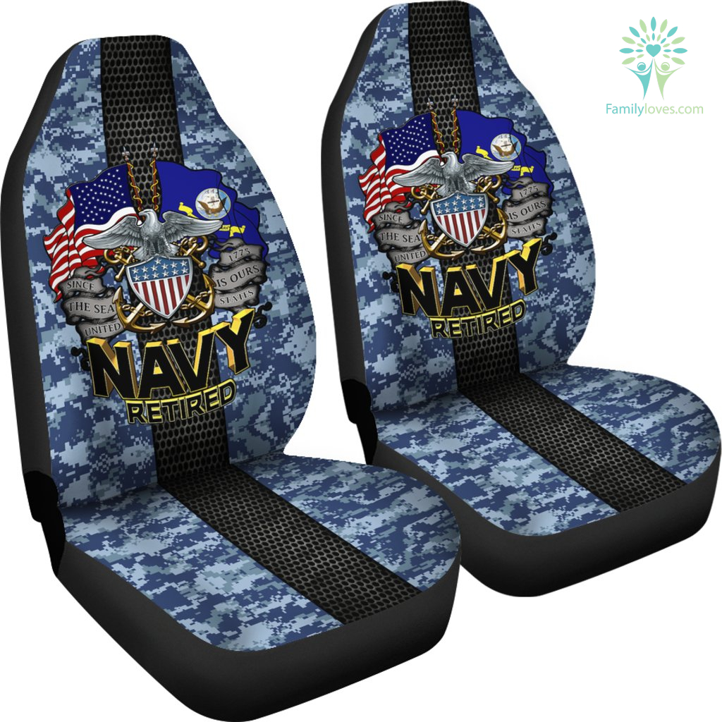 U S Navy Retired Car Seat Covers Familyloves Com